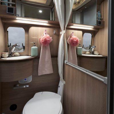 Best Friend Camper Bad und WC Wohnmobil